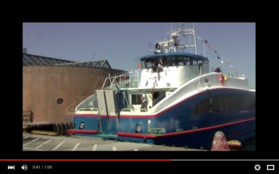 Video: Carbon Fiber Ferries in Action